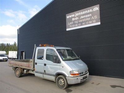 brugt Renault Master 2,5 dCi 120 120HK DobKab 2002
