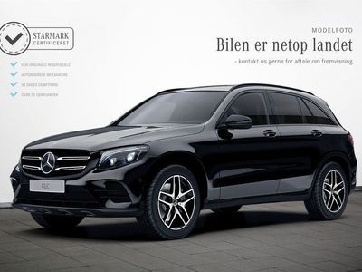 brugt Mercedes GLC220 d 2,2 Night Edition aut. 4-M