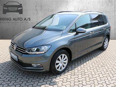 używany VW Touran 1,6 TDI BMT SCR Comfortline 115HK 6g - Personbil - gråmetal - 7 pers.