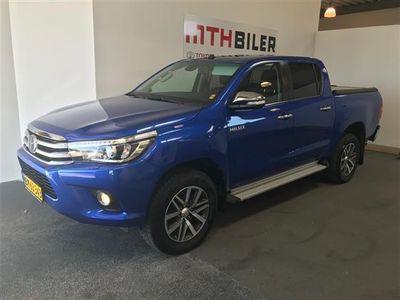 begagnad Toyota HiLux 2,4 D-4D T4 4x4 150HK DobKab Aut.
