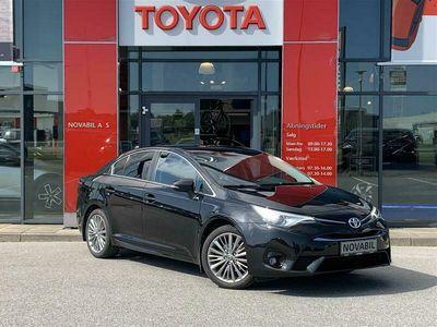 brugt Toyota Avensis 1,8 VVT-I T2 Premium Multidrive S 147HK 6g Aut.