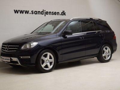 brugt Mercedes ML350 3,0 BlueTEC aut. 4-M, 5d