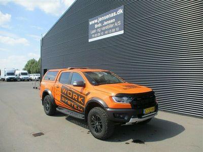 brugt Ford Ranger 3200kg 2,0 EcoBlue Bi-turbo Raptor 4x4 213HK DobKab 10g Aut. 2020