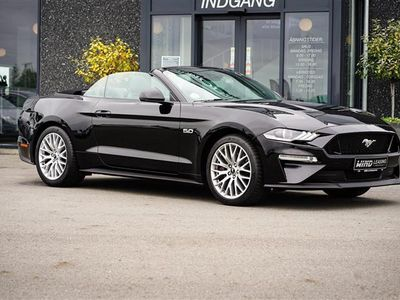 brugt Ford Mustang 5,0 Ti-VCT 55 450HK Cabr. 10g Aut.
