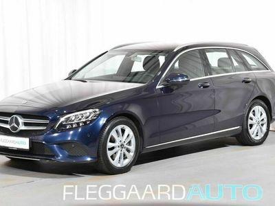 brugt Mercedes C220 d T 2,0 CDI Business 9G-Tronic 194HK Stc 9g Aut.