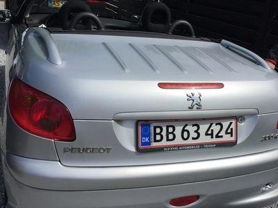 brugt Peugeot 206 CC 1.6 110 HK