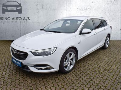 brugt Opel Insignia Sports Tourer 1,5 Turbo Dynamic Start/Stop 165HK Stc 6g Aut. - Personbil - hvid
