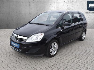 brugt Opel Zafira 1,8 16V Enjoy 140HK - Personbil - Gråmetal - 7 pers.
