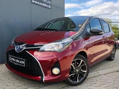 brugt Toyota Yaris 1,5 Hybrid Spirit E-CVT 100HK 5d