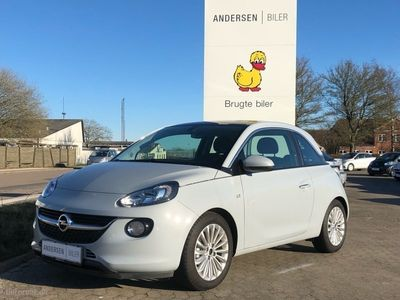 gebraucht Opel Adam 1,0 Turbo GLAM Start/Stop 90HK 3d 6g