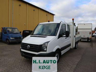 brugt VW Crafter 2,0 TDi 163 Mandskabvogn m/lad