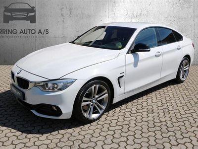 brugt BMW 428 Gran Coupé i 2,0 245HK 4d 6g - Personbil - hvid