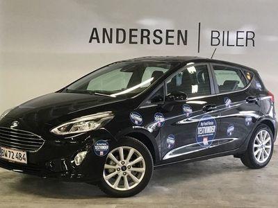 gebraucht Ford Fiesta 1,0 EcoBoost Titanium Start/Stop 125HK 5d 6g