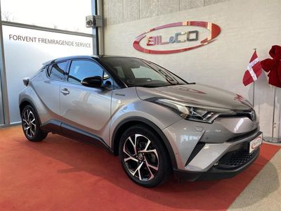 brugt Toyota C-HR 1,8 B/EL C-ULT Smart - Sound - LED Multidrive S 122HK 5d Aut.