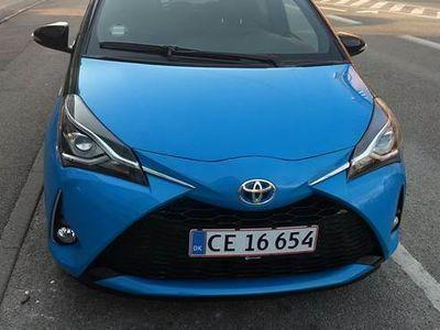 brugt Toyota Yaris 1,5 Limited Edition Cyan Blue