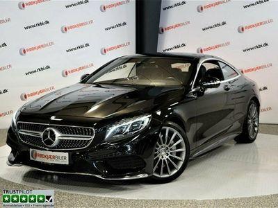 brugt Mercedes S500 4,7 AMG Line Coupé aut.
