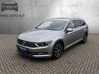 brugt VW Passat Variant 2,0 TDI BMT Highline Plus DSG 150HK Stc 6g Aut. - Personbil - sølvmetal