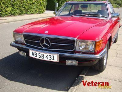 brugt Mercedes SL380 CABRIOLET