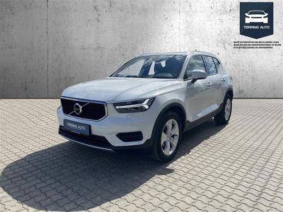 brugt Volvo XC40 2,0 D3 Momentum 150HK 5d 8g Aut. - Personbil - Hvid