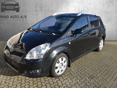 brugt Toyota Corolla Verso 2,2 D-4D,dpf Sportsvan 136HK Van - Varebil - Sort