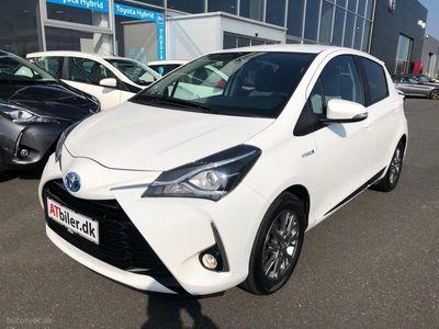 gebraucht Toyota Yaris Hybrid 1,5 B/EL Exclusive E-CVT 100HK 5d Trinl. Gear