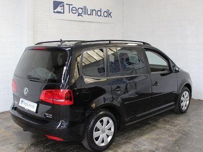 brugt VW Touran TDi 140 Comfortline BMT 7prs