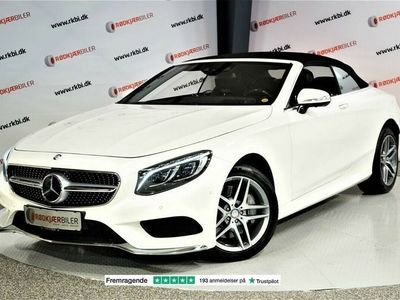 brugt Mercedes S500 4,7 Cabriolet aut.