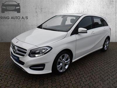 brugt Mercedes B180 1,5 CDI 109HK 6g - Personbil - Hvid