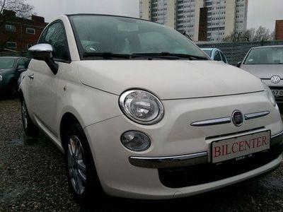 brugt Fiat 500C 1,2 Popstar