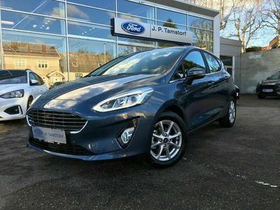 brugt Ford Fiesta EcoBoost mHEV Titanium X