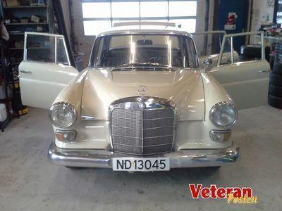 brugt Mercedes 230 heckfloss
