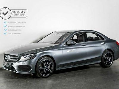 gebraucht Mercedes C200 2,0 AMG Line aut.