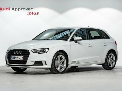 brugt Audi A3 Sportback 30 TFSi Sport S-tr.
