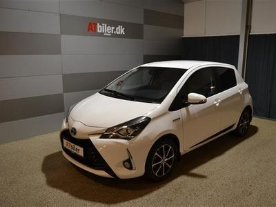 brugt Toyota Yaris Hybrid 1,5 B/EL Premium Safety sense Trinl.gear E-CVT 100HK 5d