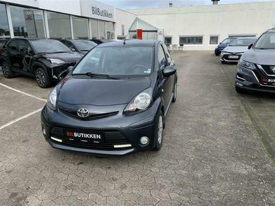 brugt Toyota Aygo 1,0 VVT-I T2 Air Connect 68HK 5d A+