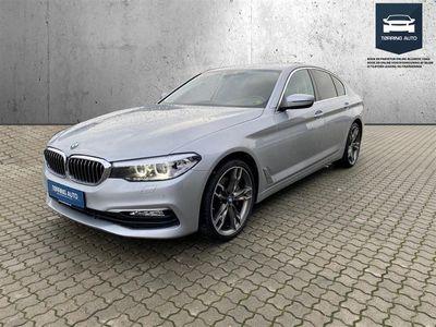 brugt BMW 530 d 3,0 D Steptronic 265HK 8g Aut. - Personbil - Sølvmetal