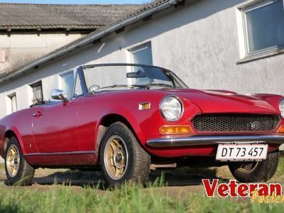 brugt Fiat 124 Spider BS