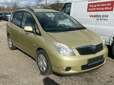 brugt Toyota Corolla Verso 1,6 Sol