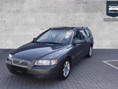 brugt Volvo V70 2,4 170HK Stc - Personbil - Grå