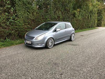 brugt Opel Corsa 1,6 GSI 220HK