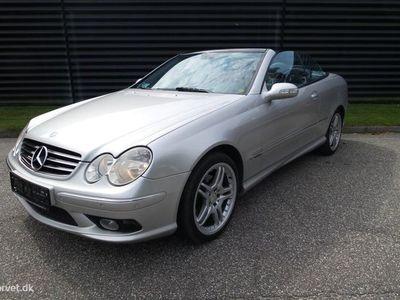 brugt Mercedes CLK320 3,2 218HK Cabr. Aut.