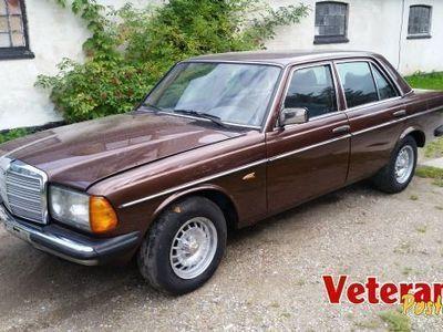 brugt Mercedes 250 w 123