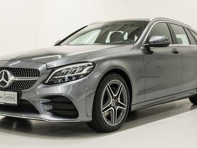 brugt Mercedes C200 AMG Line stc. aut. 2019