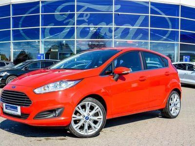 used Ford Fiesta 1,0 EcoBoost Titanium Start/Stop 100HK 5d