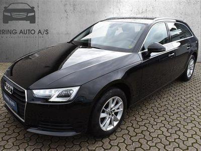 brugt Audi A4 Avant 1,4 TFSI 150HK Stc 6g - Personbil - Sort