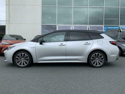 brugt Toyota Corolla Touring Sports 2,0 Hybrid H3 Premium E-CVT 180HK Stc 6g Aut. A++