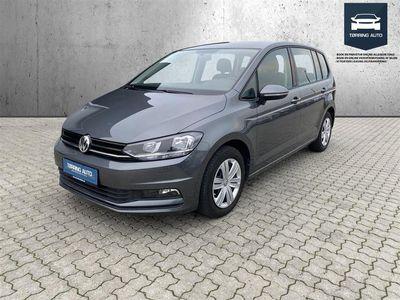 brugt VW Touran 1,2 TSI BMT Trendline 110HK 6g - Personbil - Grå - 7 pers.