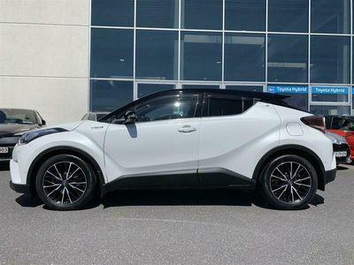 brugt Toyota C-HR 1,8 Hybrid Premium Selected Bi-tone Multidrive S 122HK 5d Aut. A++