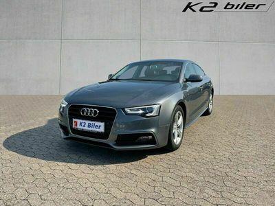 brugt Audi A5 Sportback 1,8 TFSi 144 S-line Multitr.