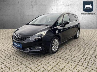 brugt Opel Zafira Tour 2,0 CDTI Enjoy 170HK 6g Aut. - Personbil - Sortmetal - 7 pers.